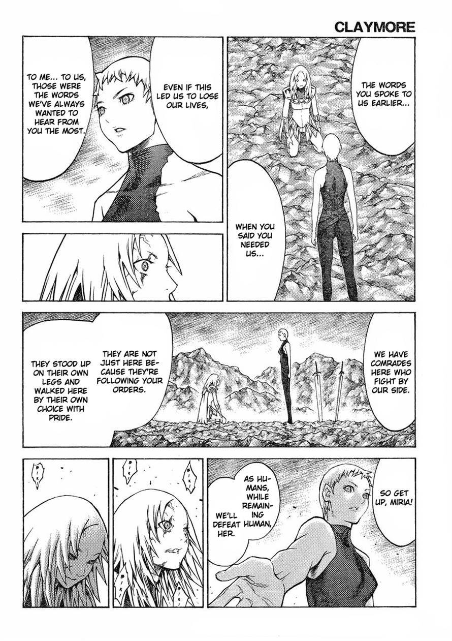 Claymore, Chapter 123 image 014