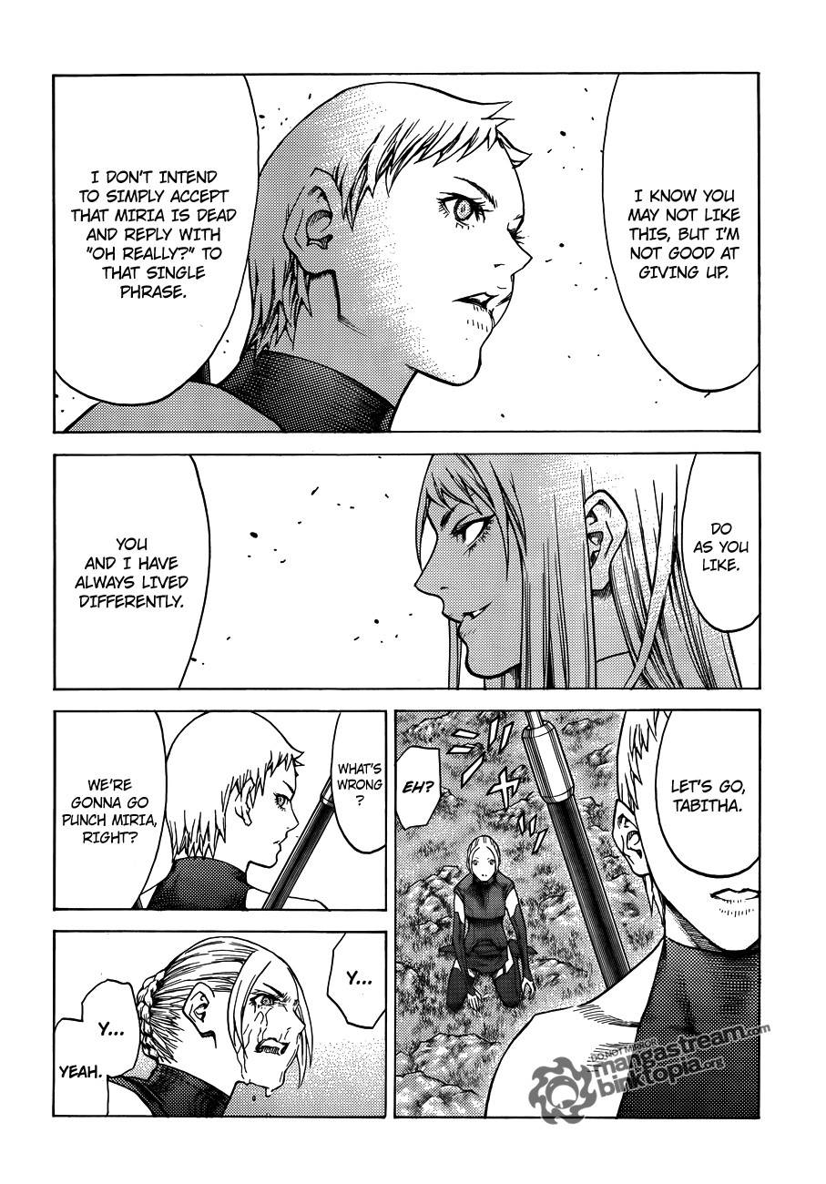 Claymore, Chapter 109 image 023