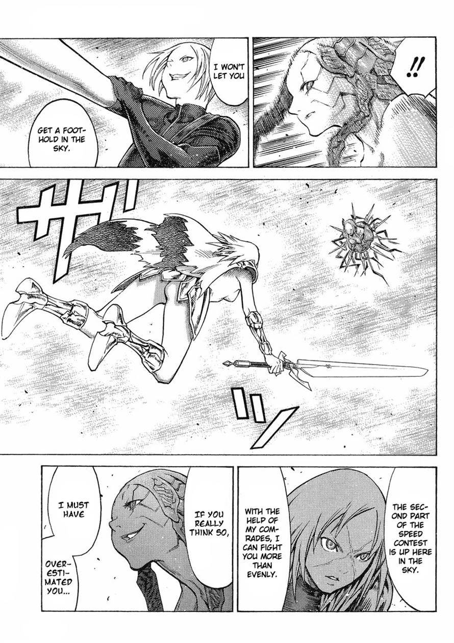 Claymore, Chapter 123 image 029