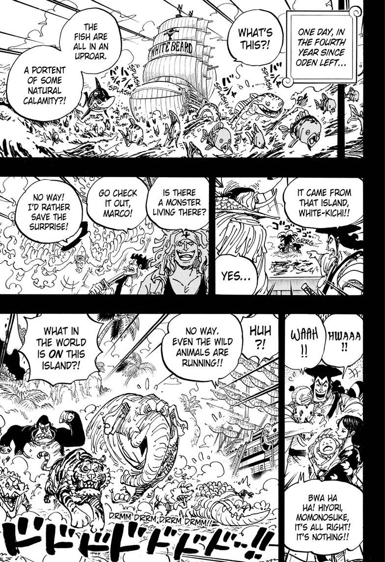 One Piece, Chapter 965 image 015