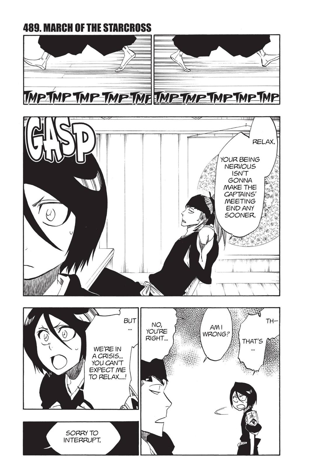 Bleach, Chapter 489 image 001
