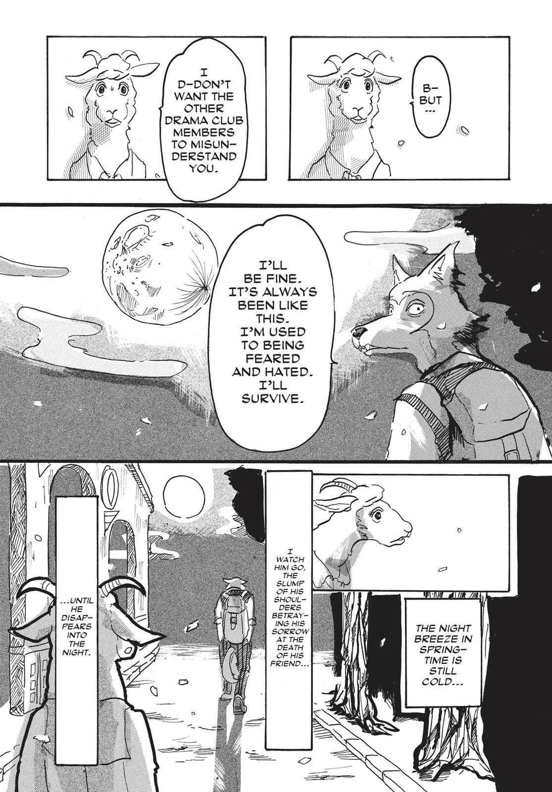 Beastars Manga, Chapter 1 image 055