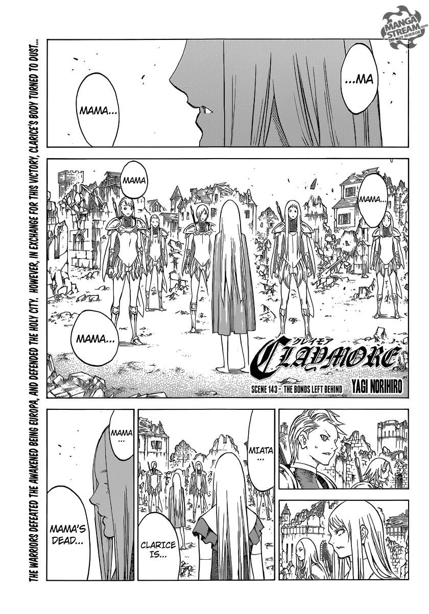 Claymore, Chapter 143 image 001