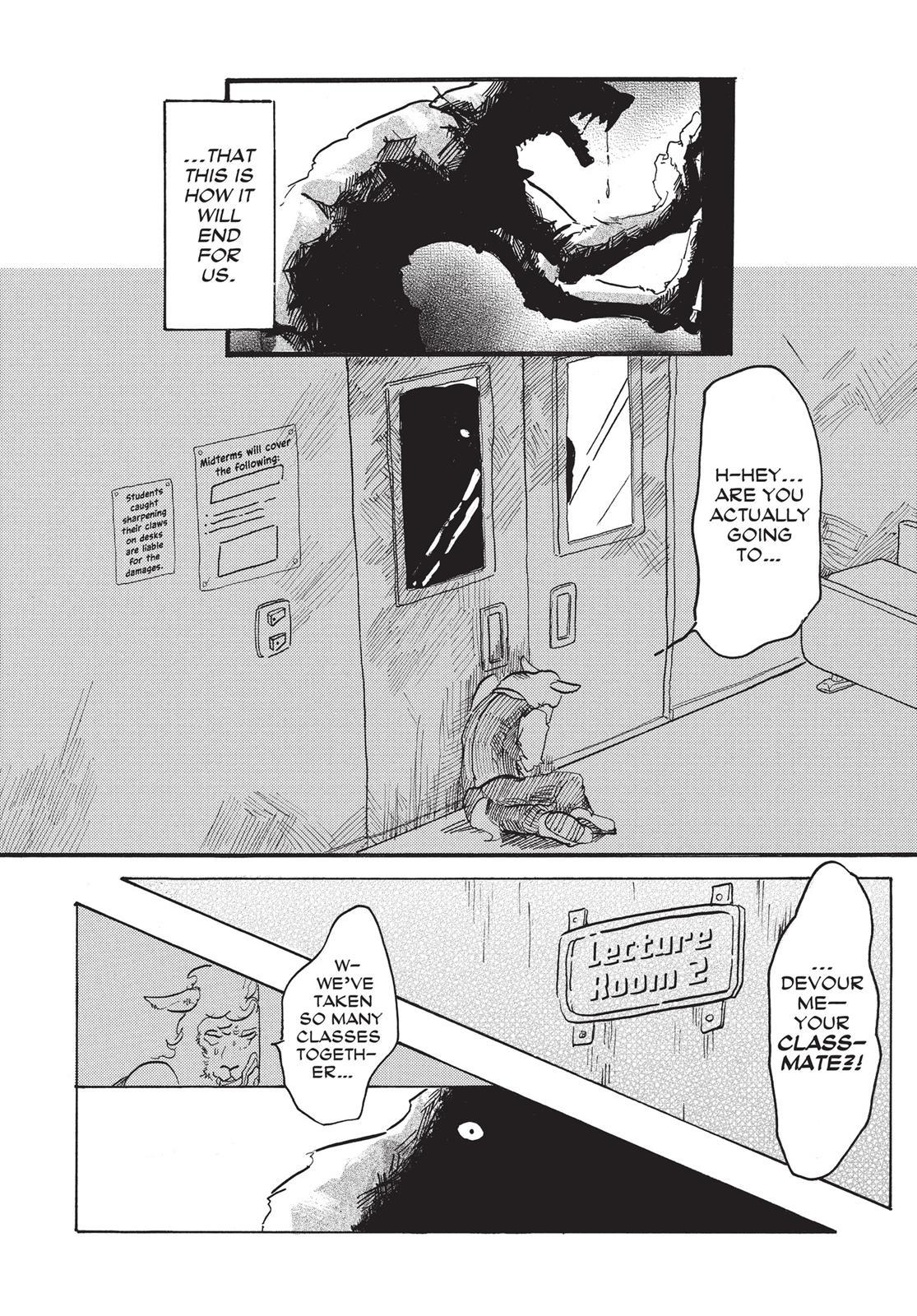 Beastars Manga, Chapter 1 image 009