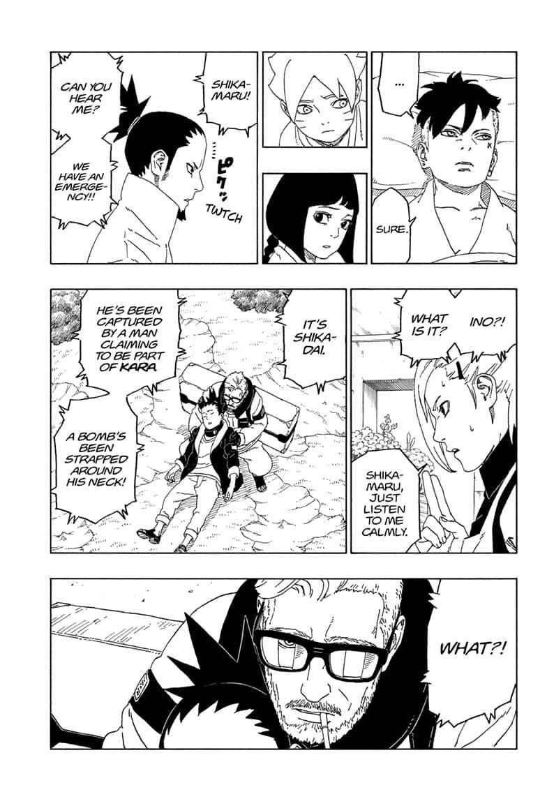 Boruto Manga, Chapter 44 image 033