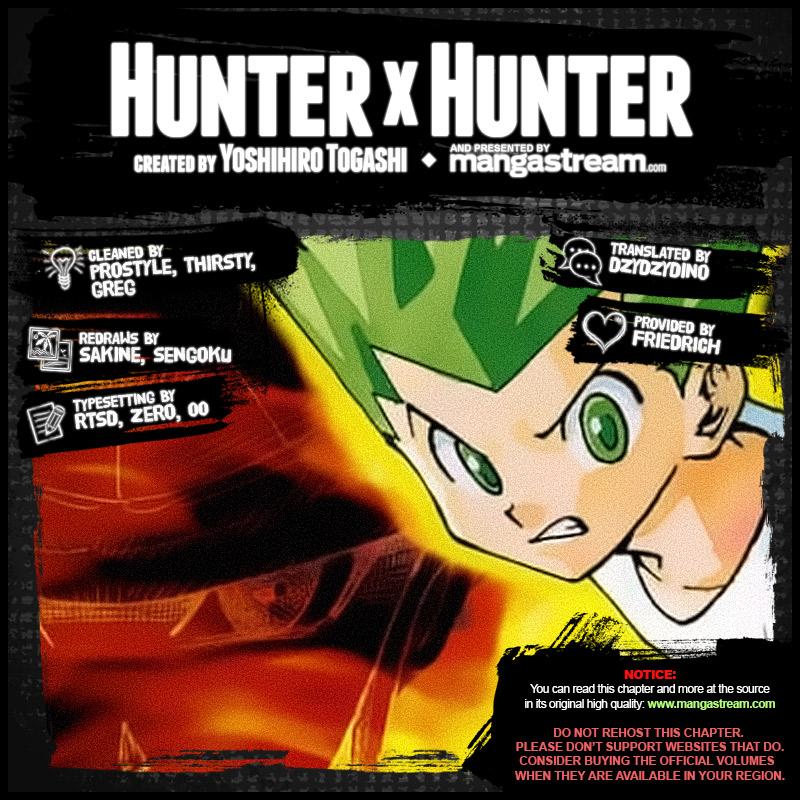 Hunter X Hunter, Chapter 385 image 002