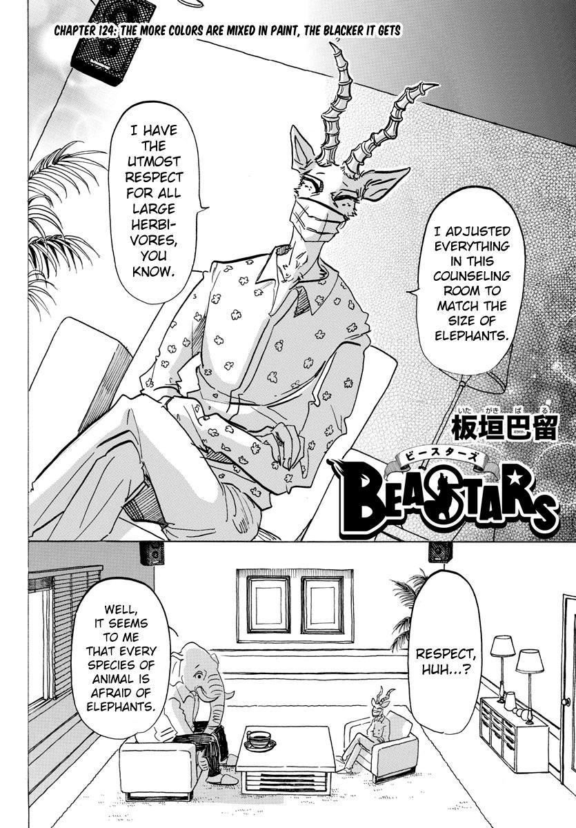Beastars Manga, Chapter 124 image 002