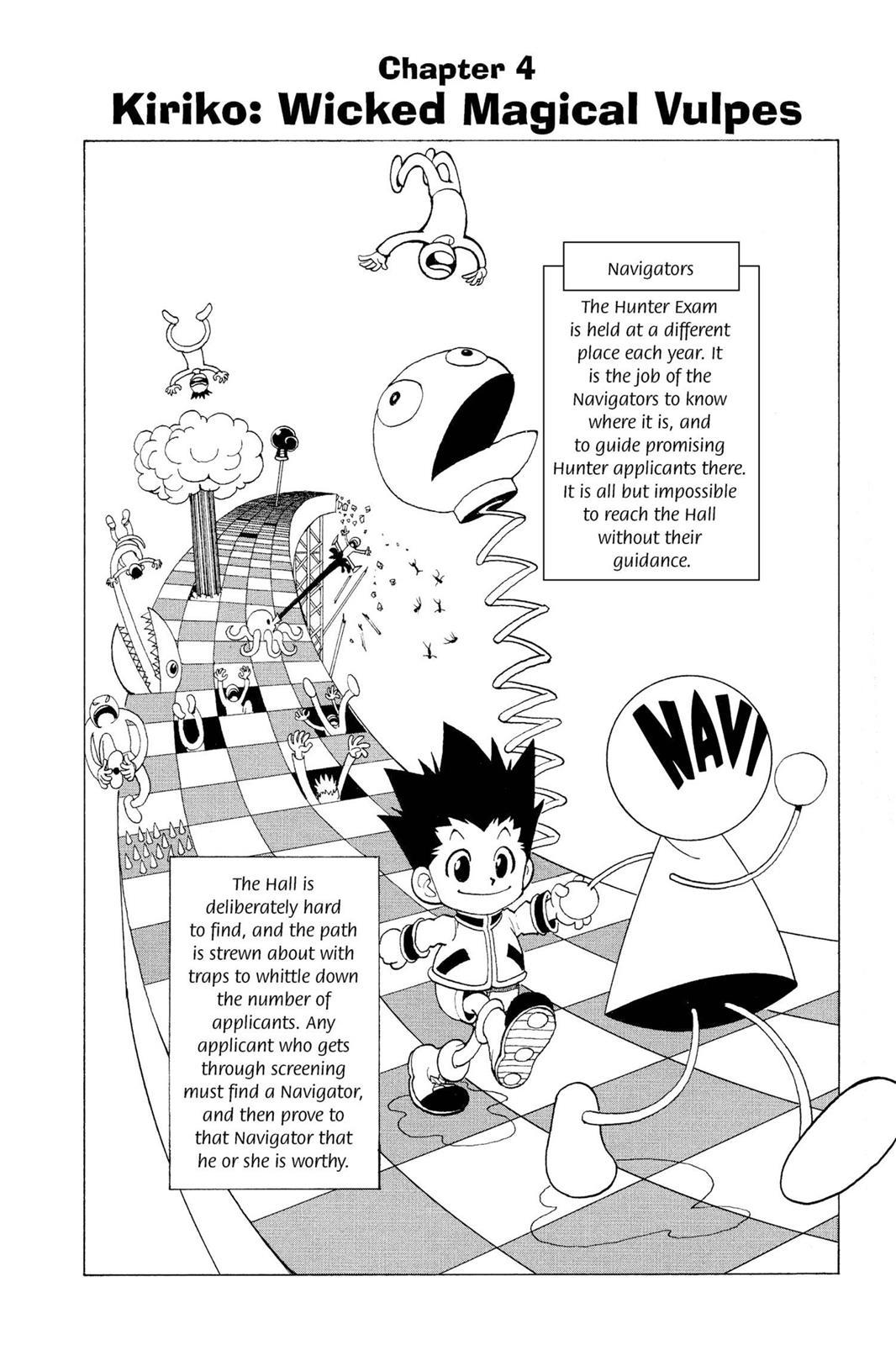 Hunter X Hunter, Chapter 4 image 002