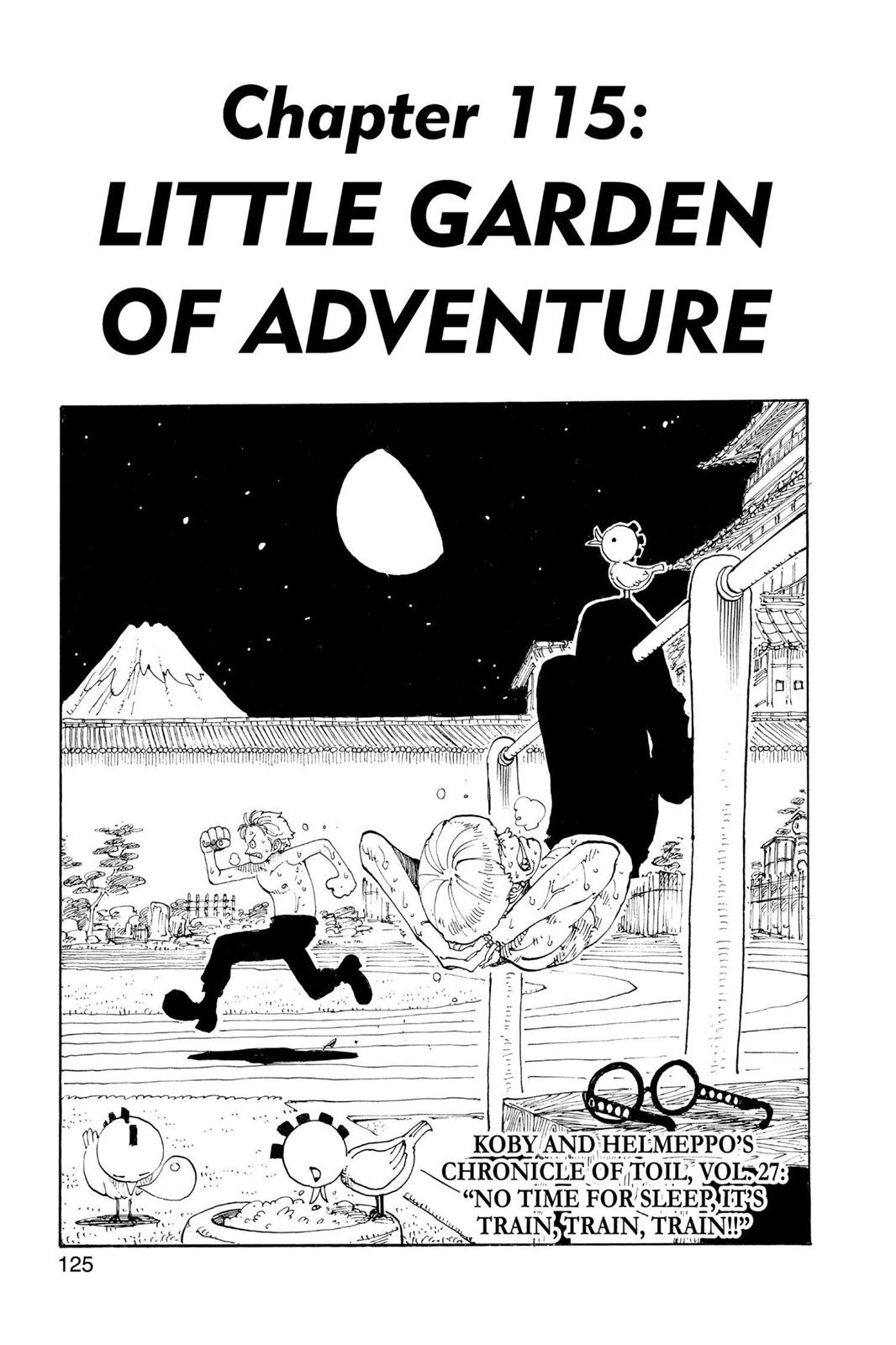 One Piece, Chapter 115 image 002