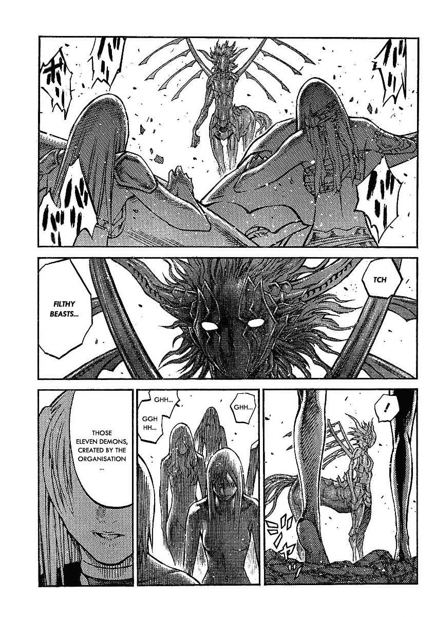 Claymore, Chapter 88 image 027