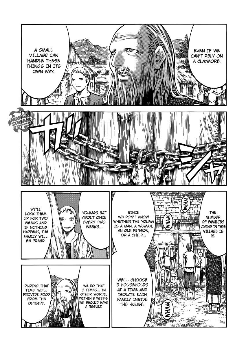 Claymore, Chapter 135 image 005