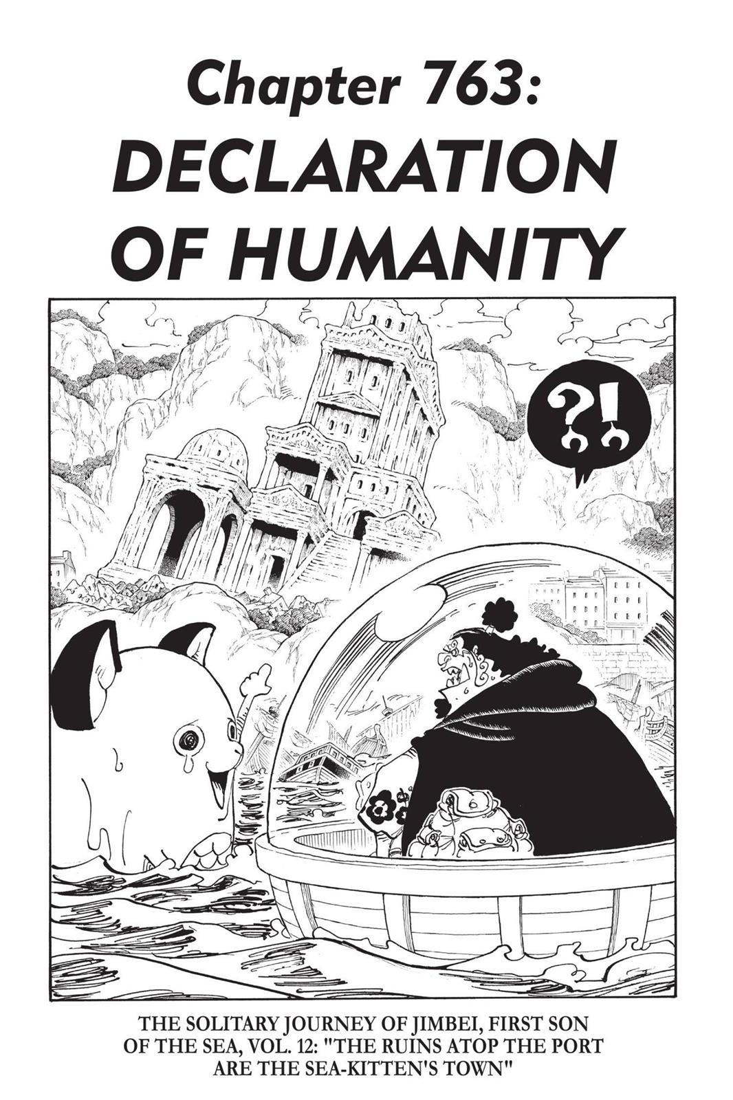 One Piece, Chapter 763 image 001