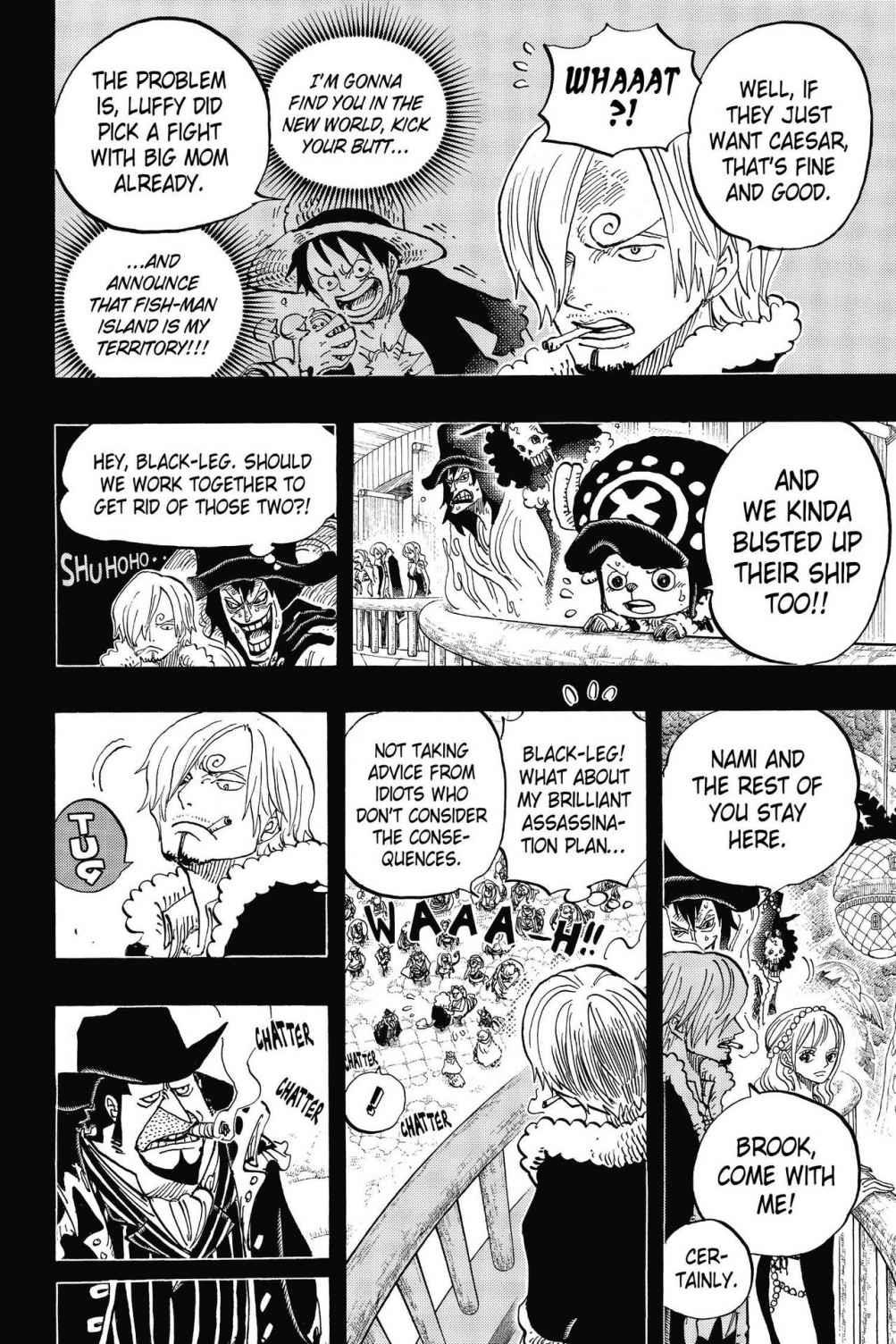 One Piece, Chapter 812 image 008