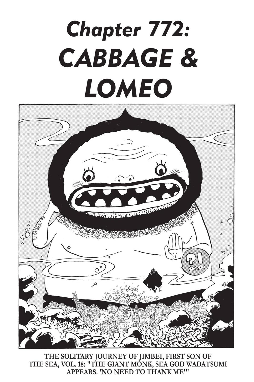 One Piece, Chapter 772 image 001
