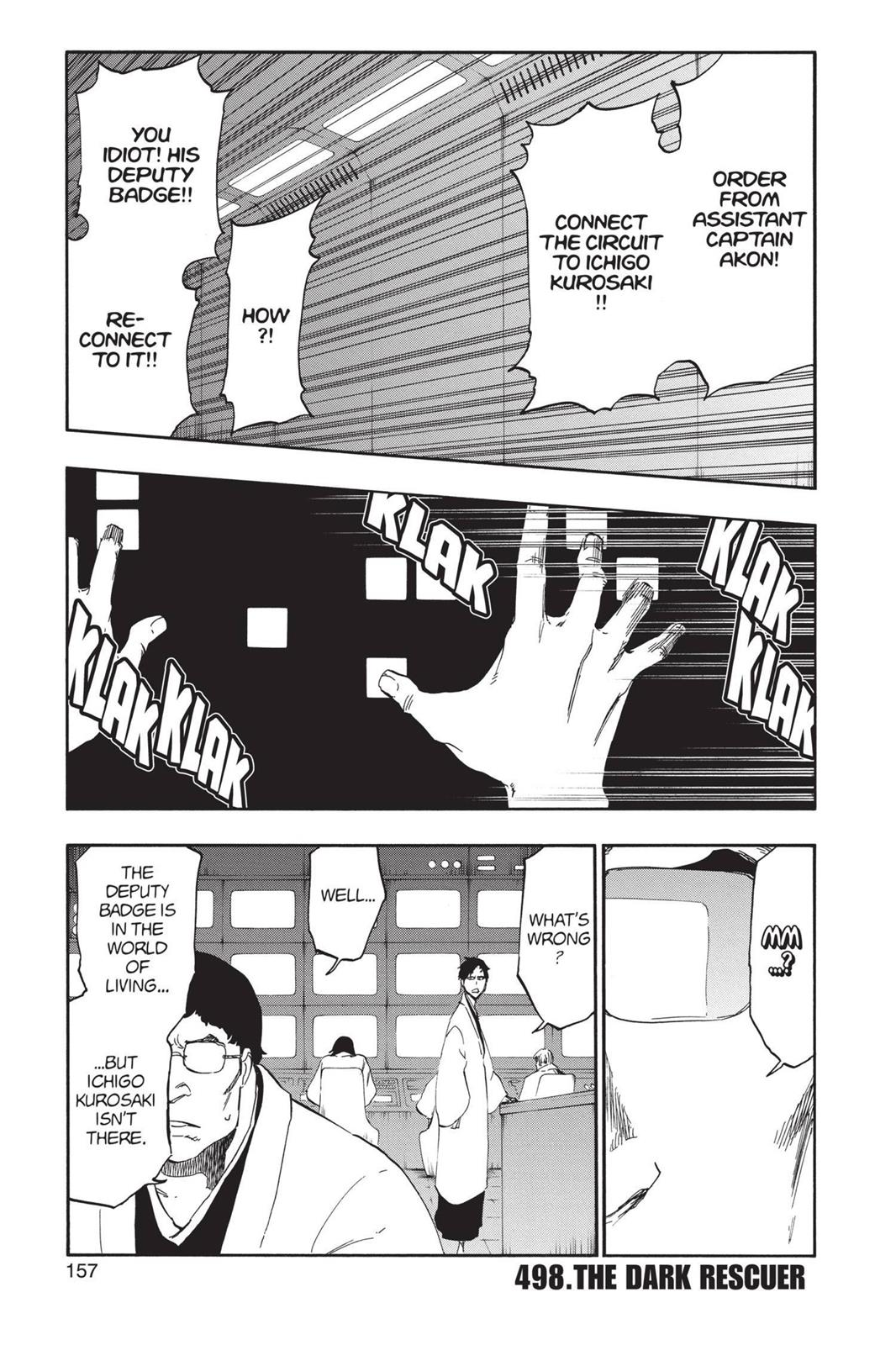 Bleach, Chapter 498 image 001