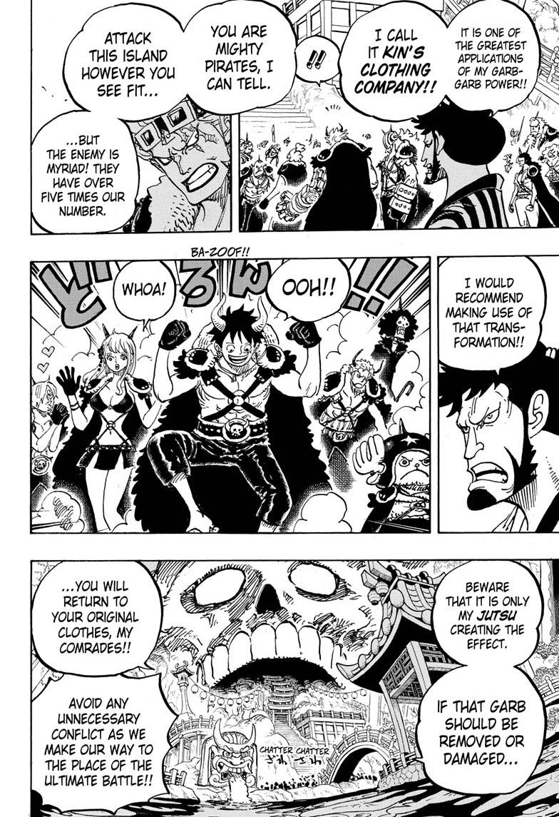 One Piece, Chapter 978 image 009