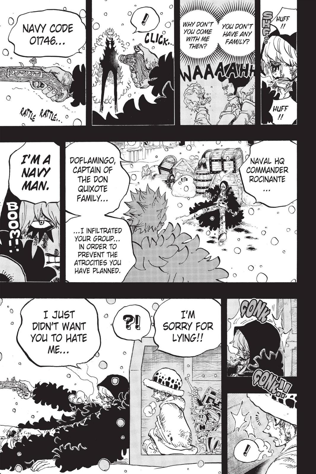 One Piece, Chapter 767 image 009