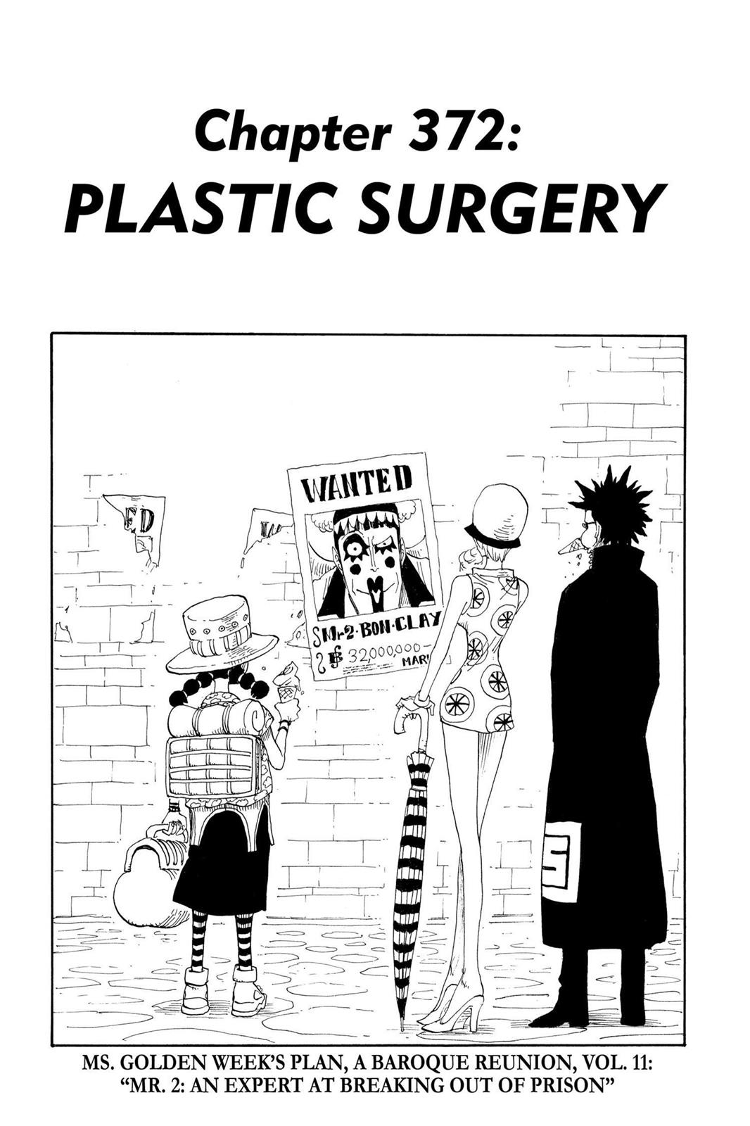 One Piece, Chapter 372 image 001