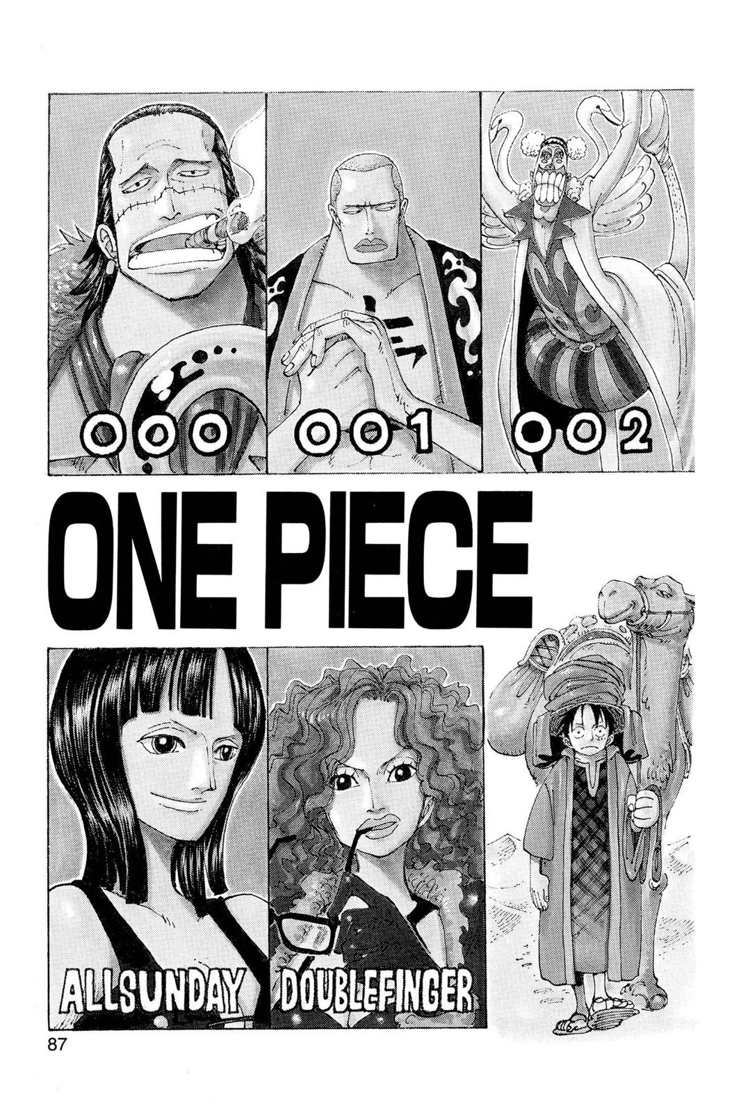 One Piece, Chapter 160 image 002