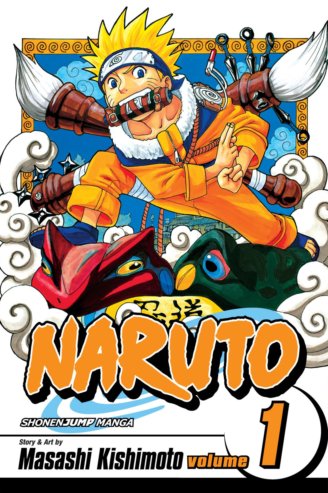 Naruto, Chapter 1 image 001
