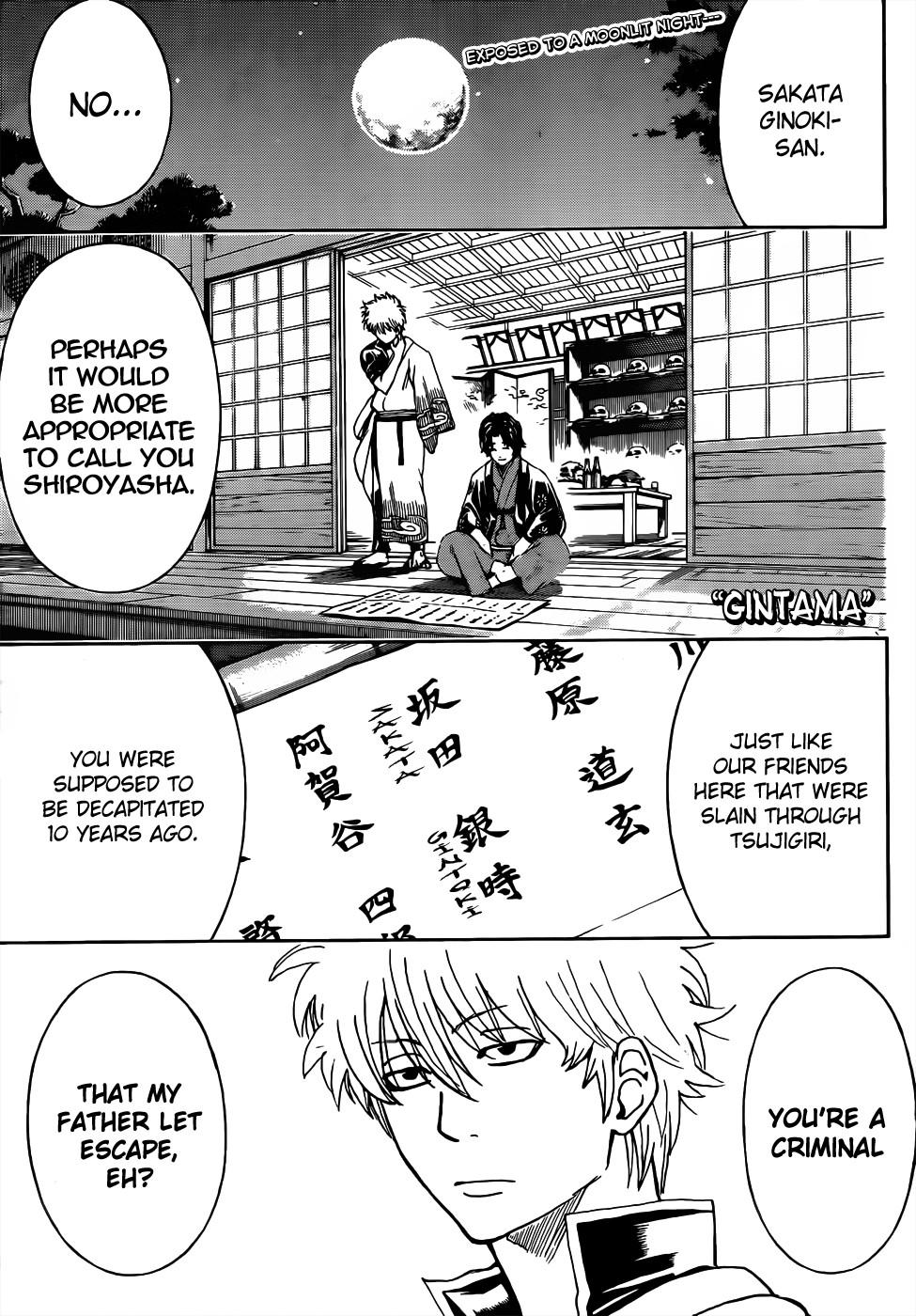 Gintama Chapter, 465 image 001