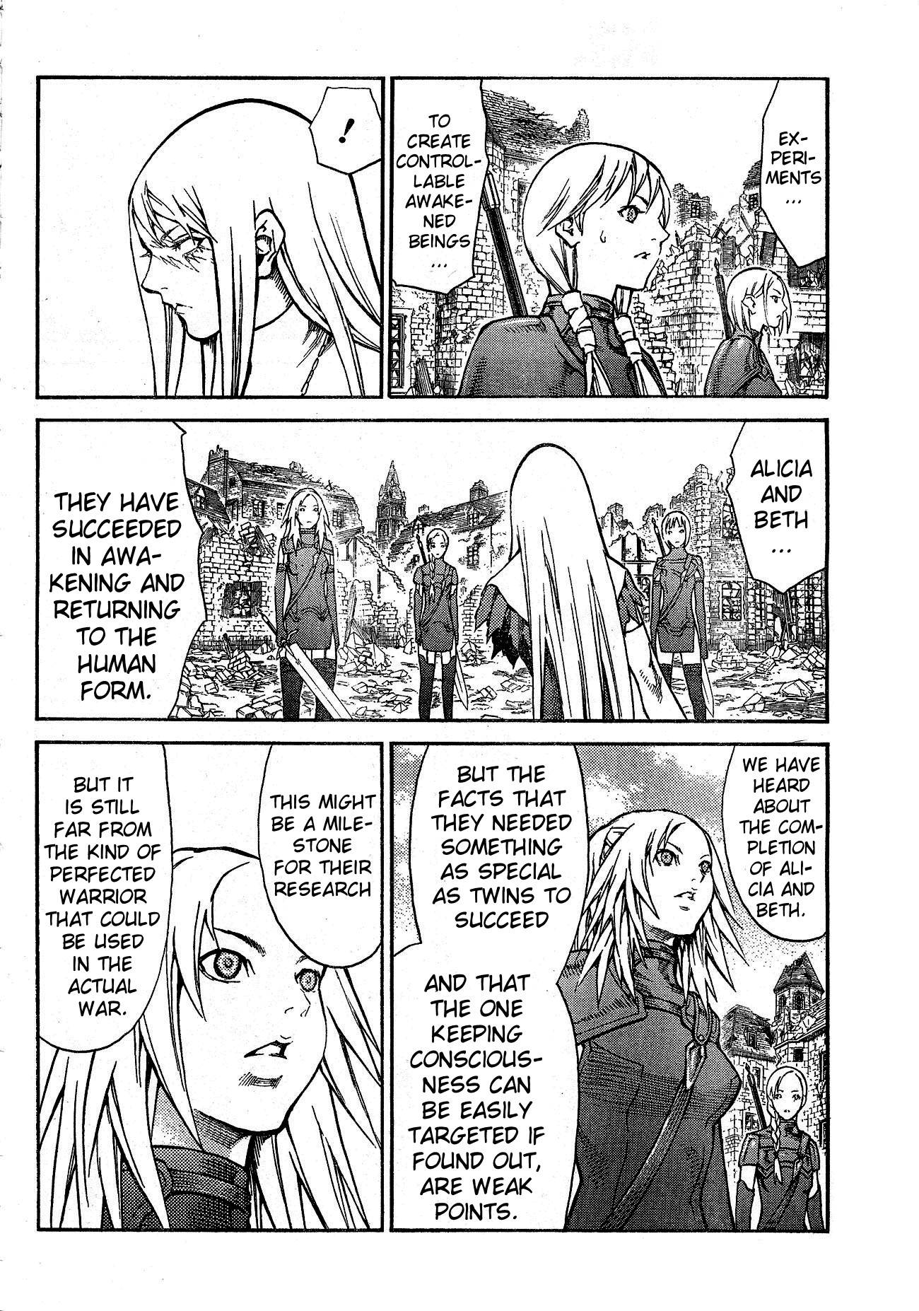 Claymore, Chapter 80 image 005