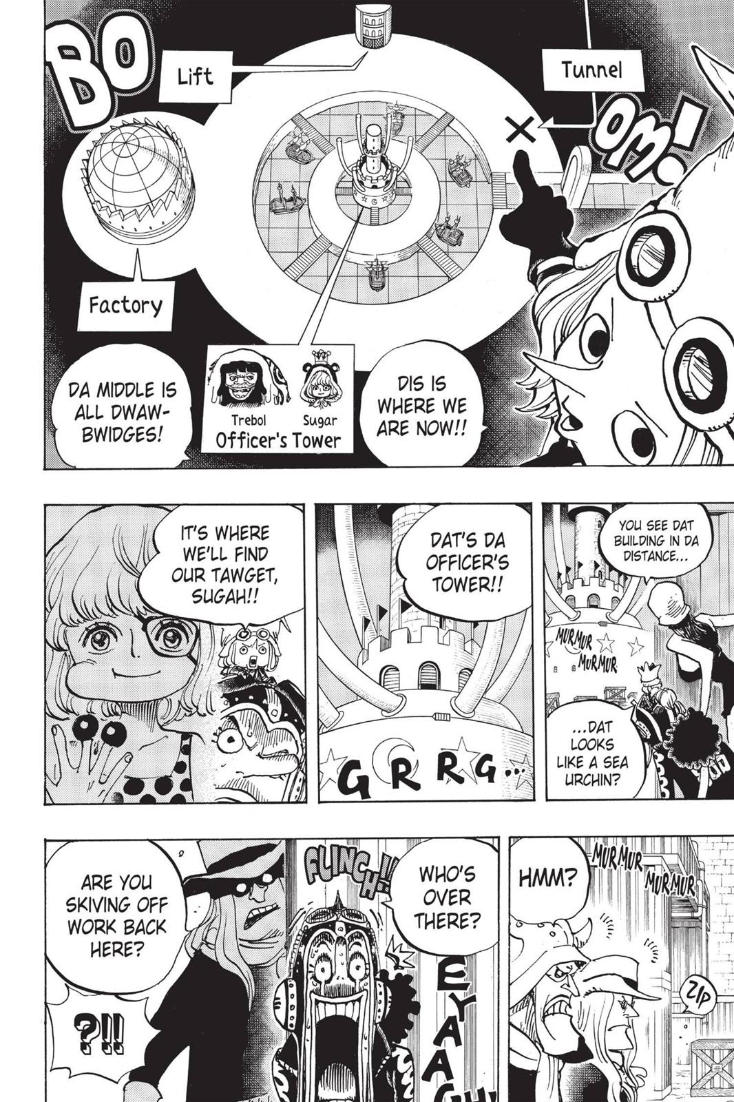 One Piece, Chapter 733 image 009