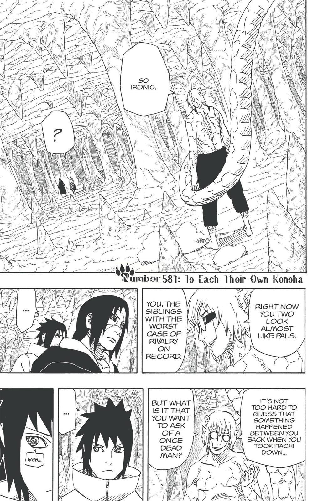 Naruto, Chapter 581 image 001