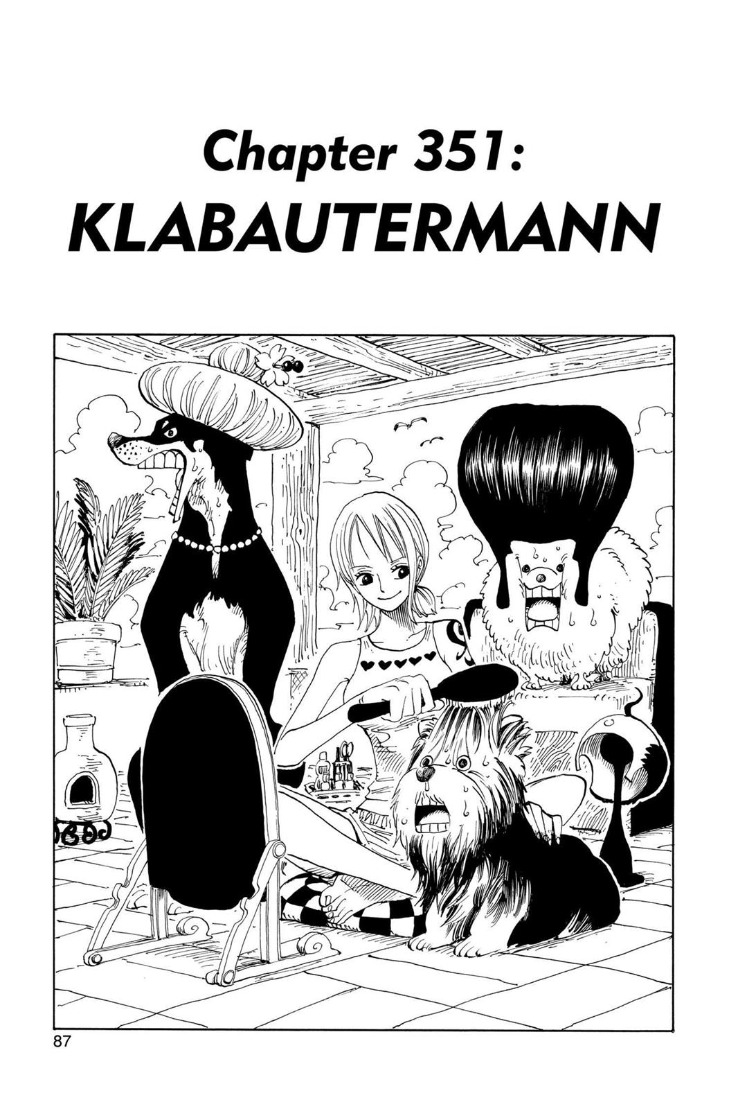 One Piece, Chapter 351 image 001