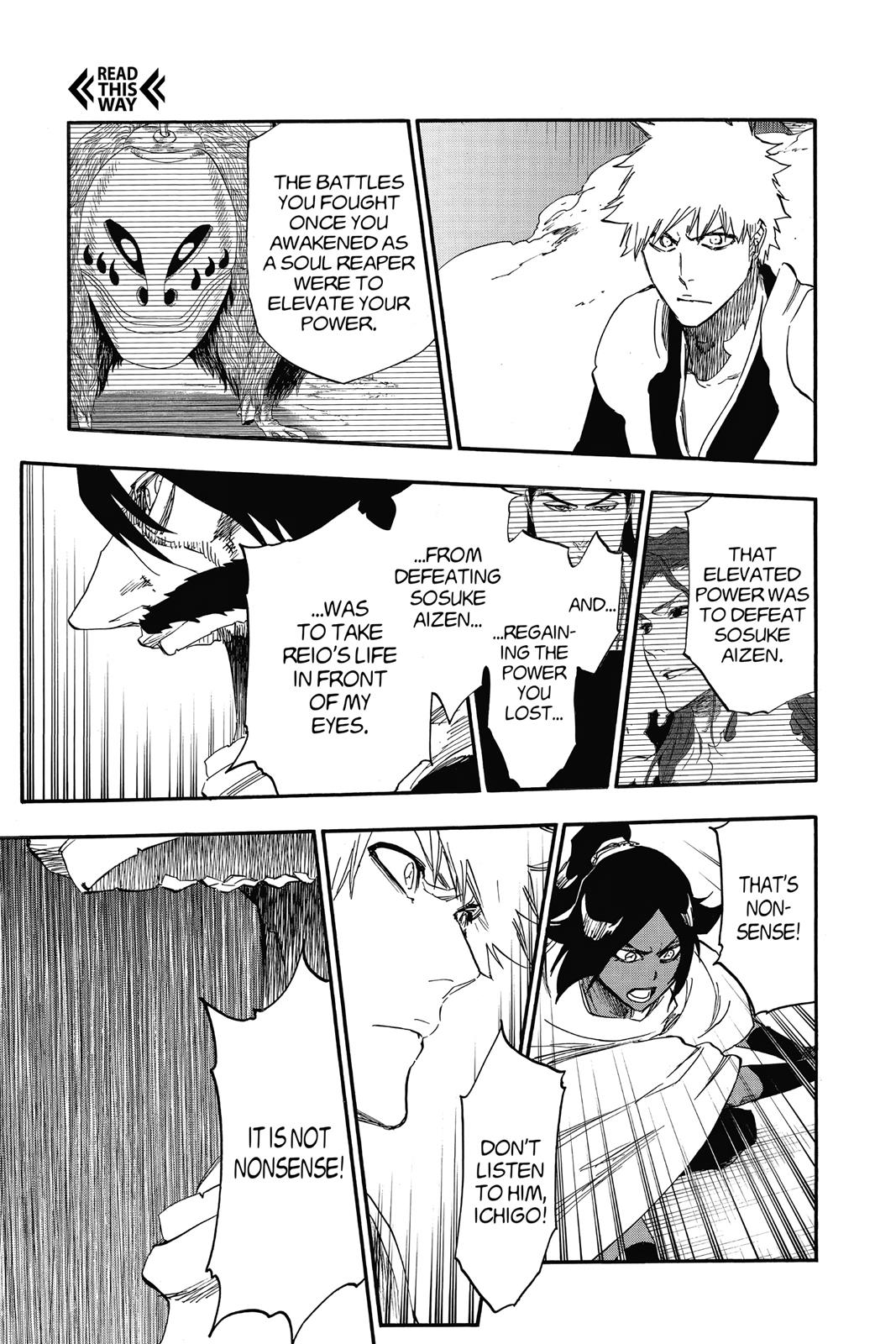 Bleach, Chapter 619 image 003