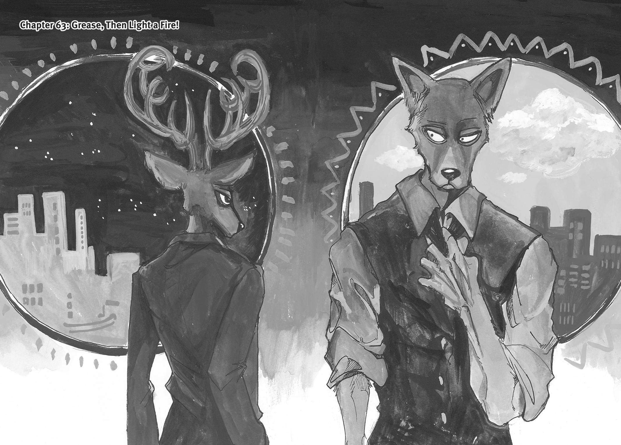 Beastars Manga, Chapter 63 image 001