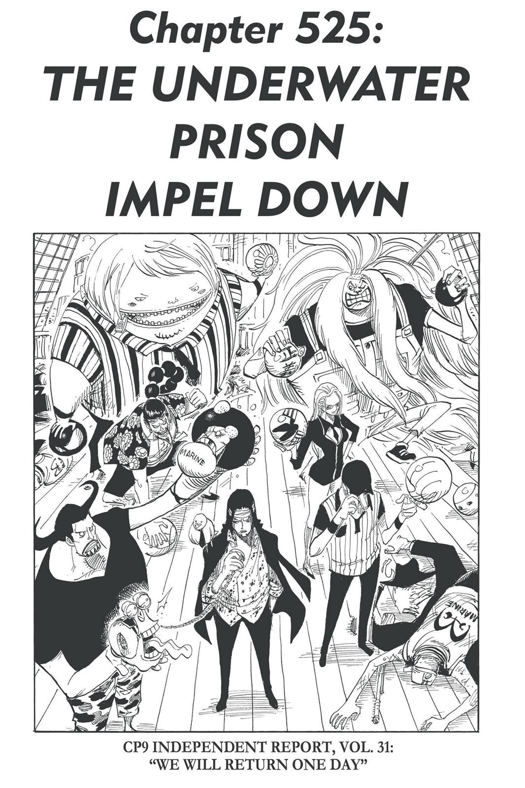 One Piece, Chapter 525 image 001