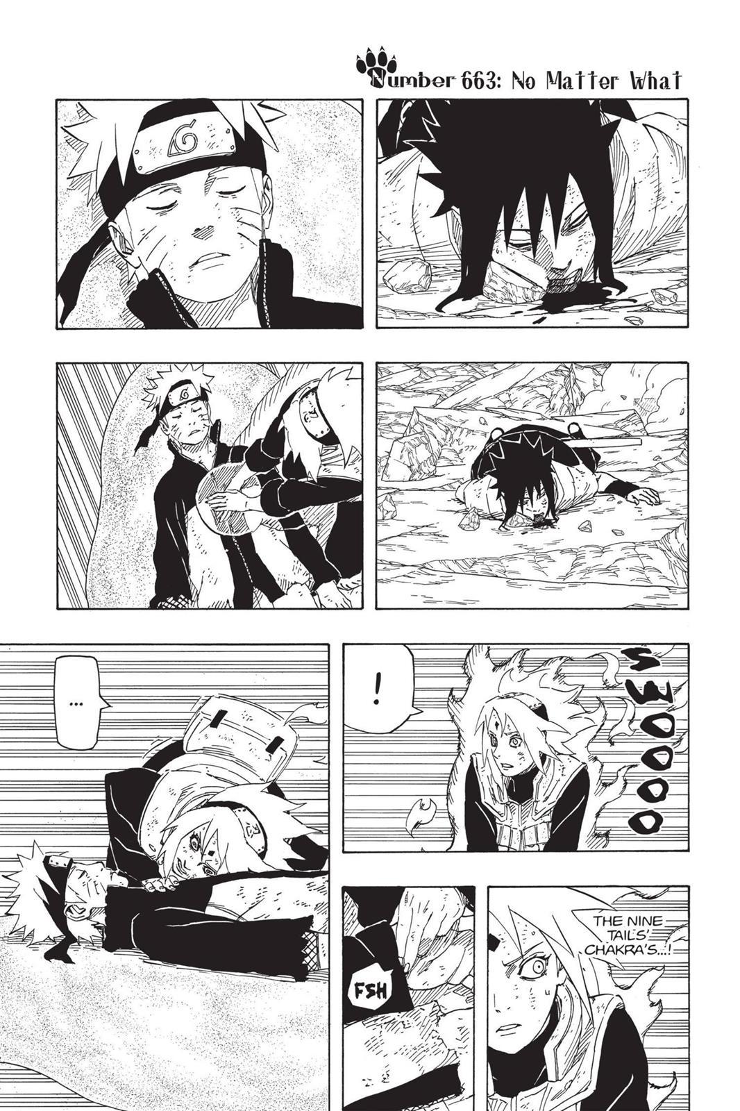 Naruto, Chapter 663 image 001