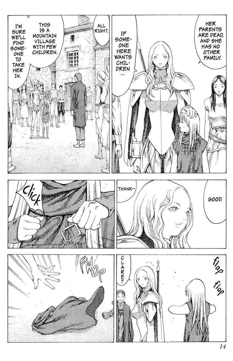 Claymore, Chapter 16 image 013