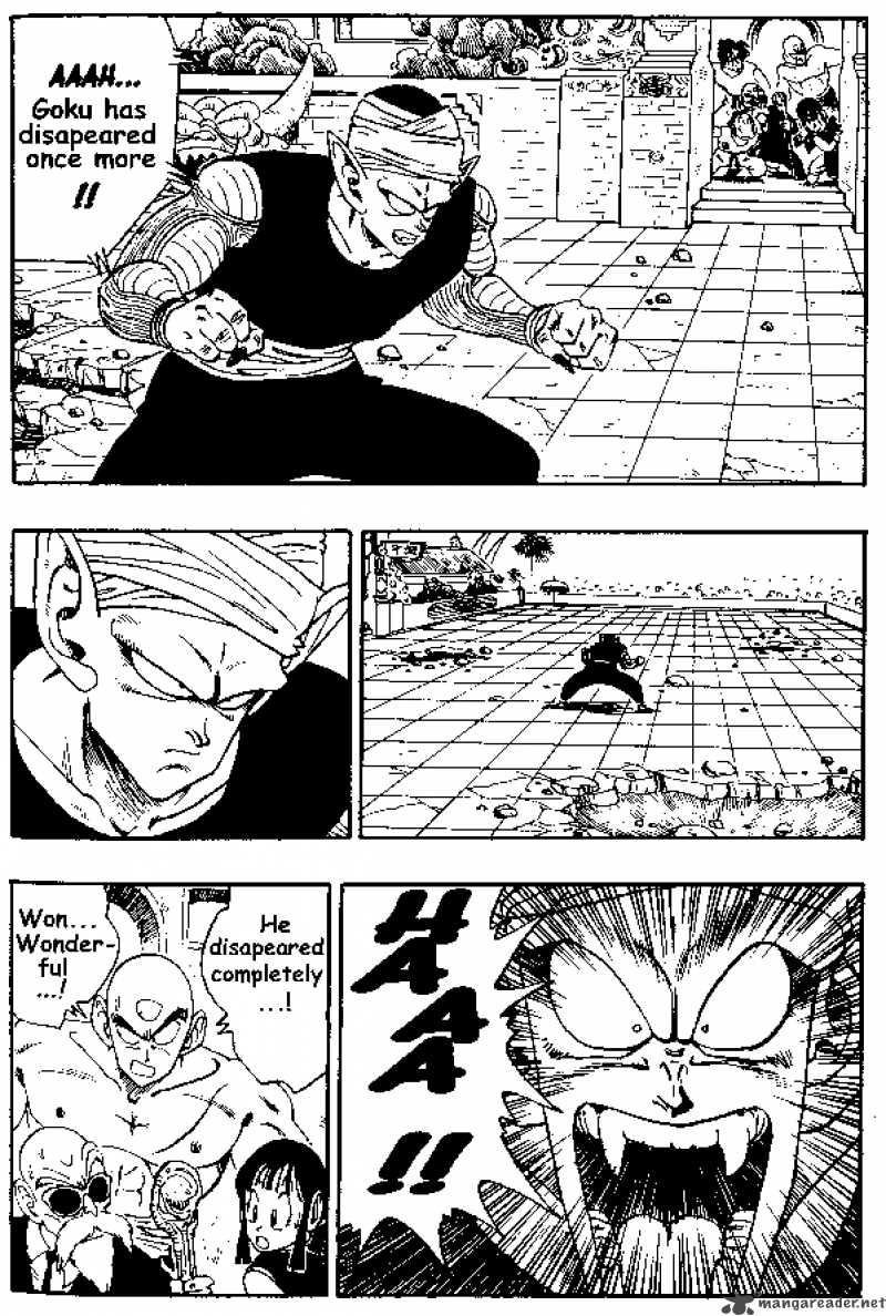Dragon Ball, Chapter 184 image 004