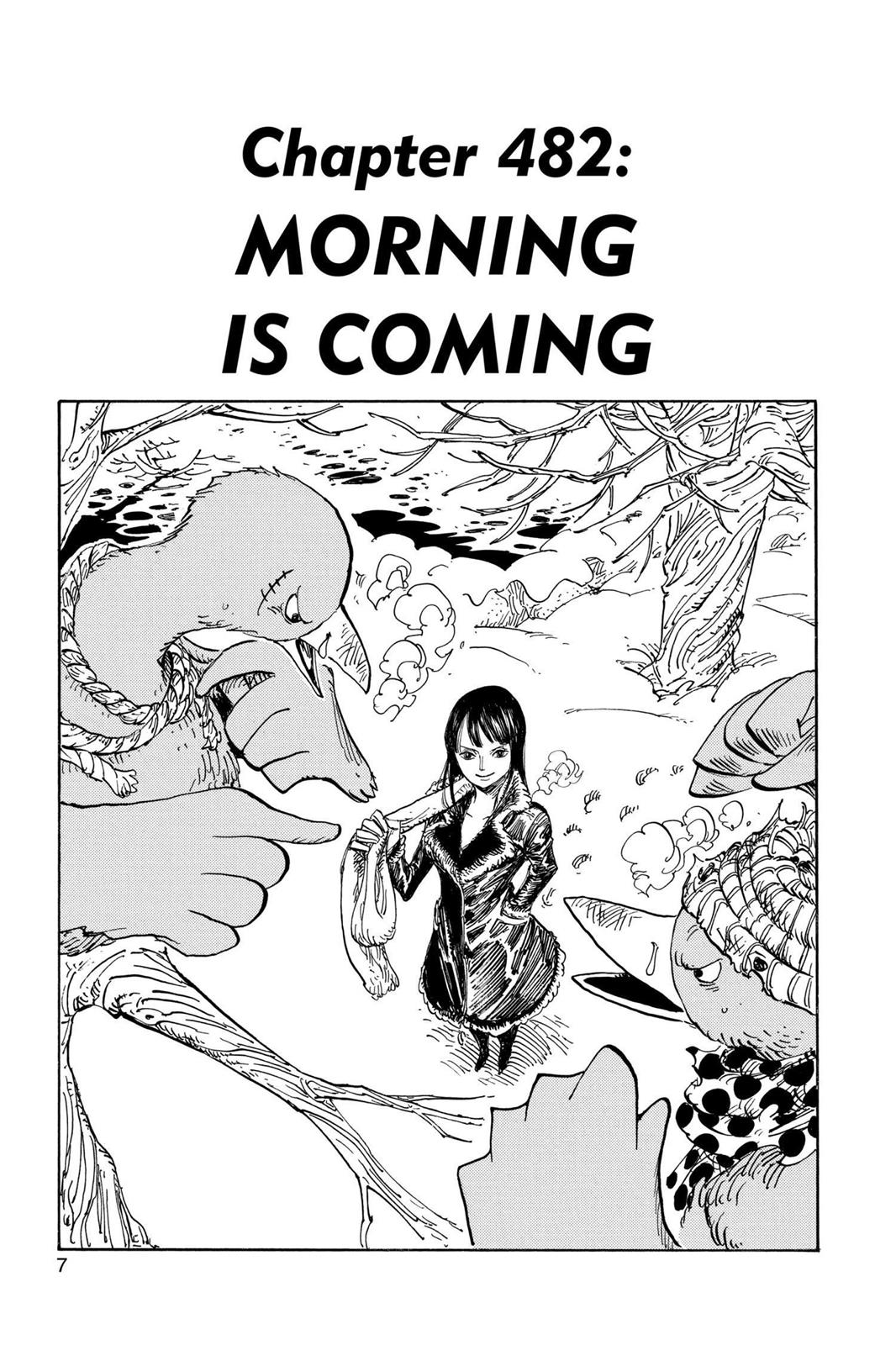 One Piece, Chapter 482 image 008