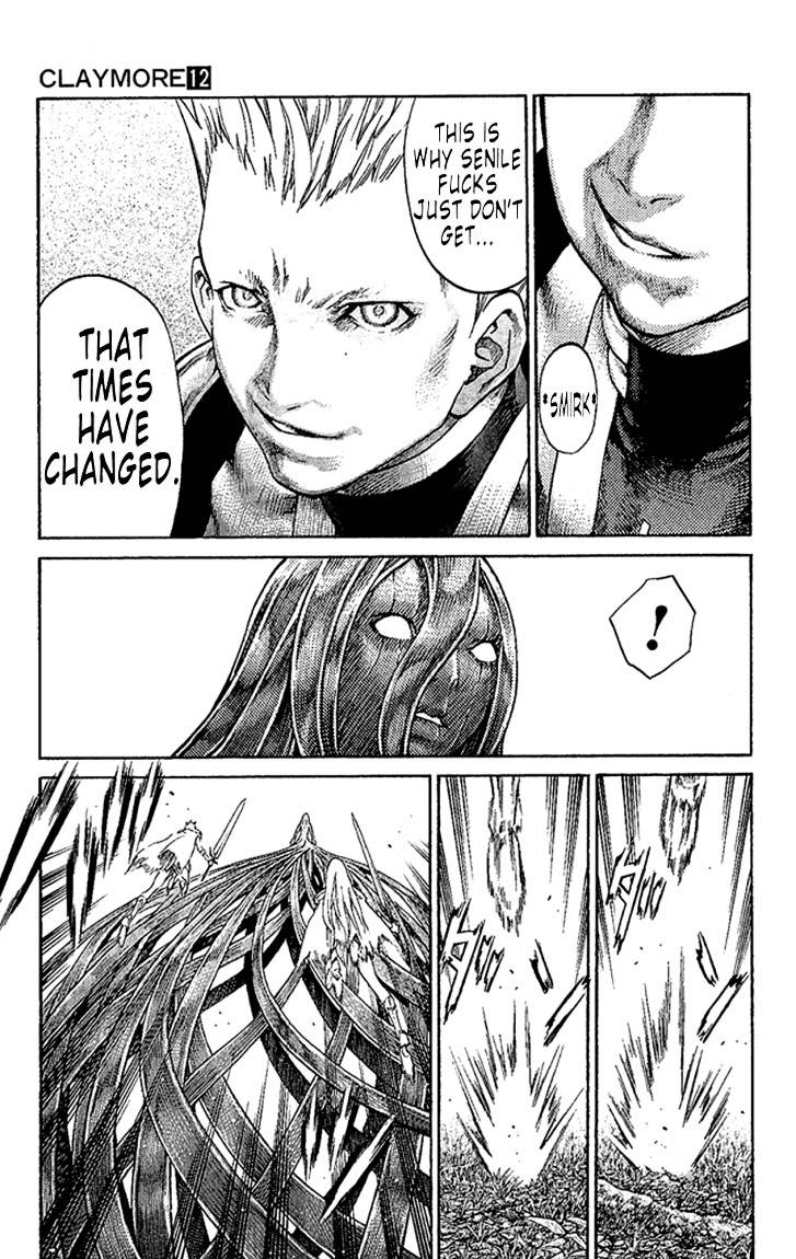 Claymore, Chapter 69 image 025
