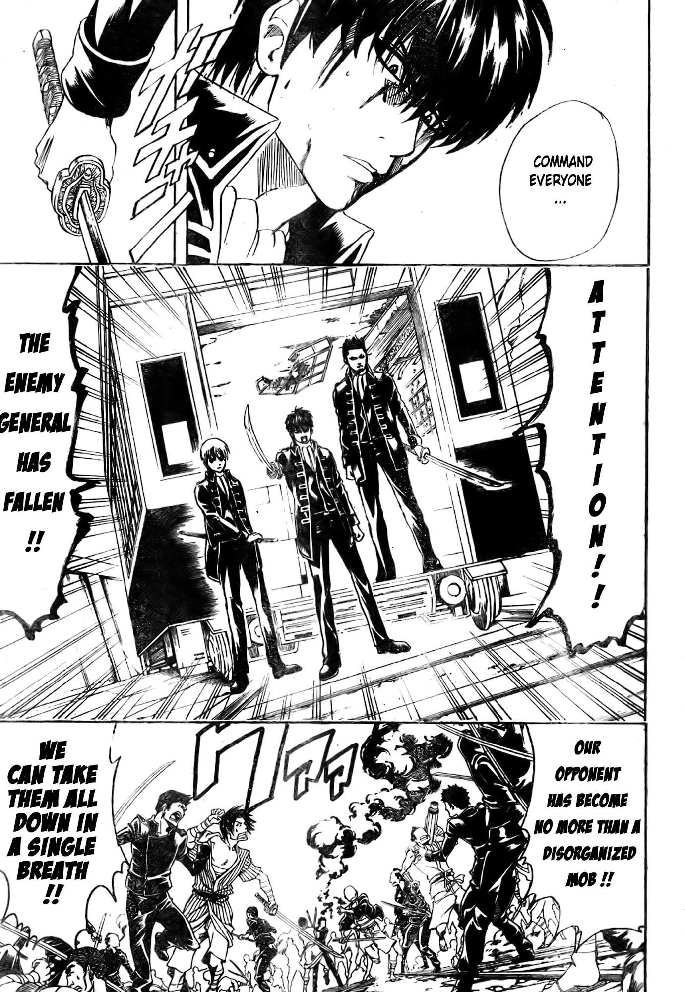 Gintama Chapter, 167 image 011