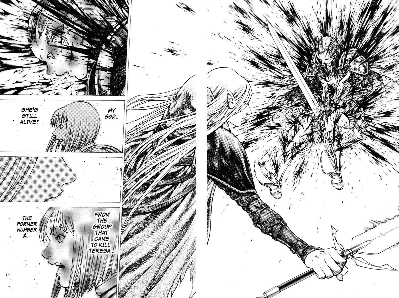 Claymore, Chapter 36 image 020