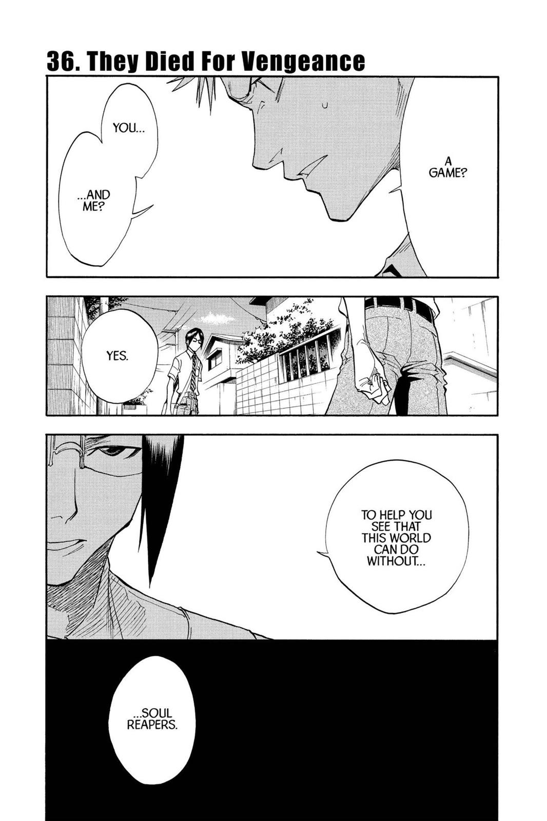 Bleach, Chapter 36 image 001