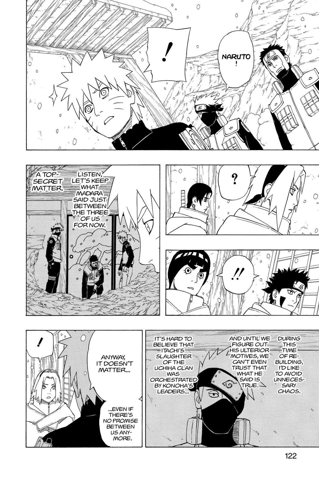 Naruto, Chapter 470 image 004