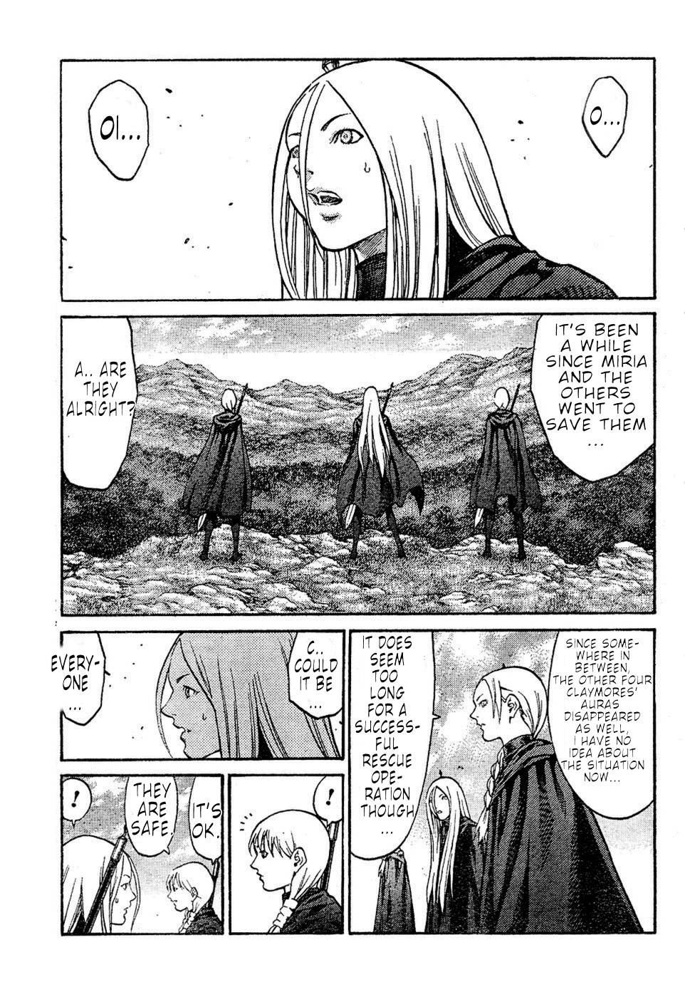 Claymore, Chapter 72 image 008