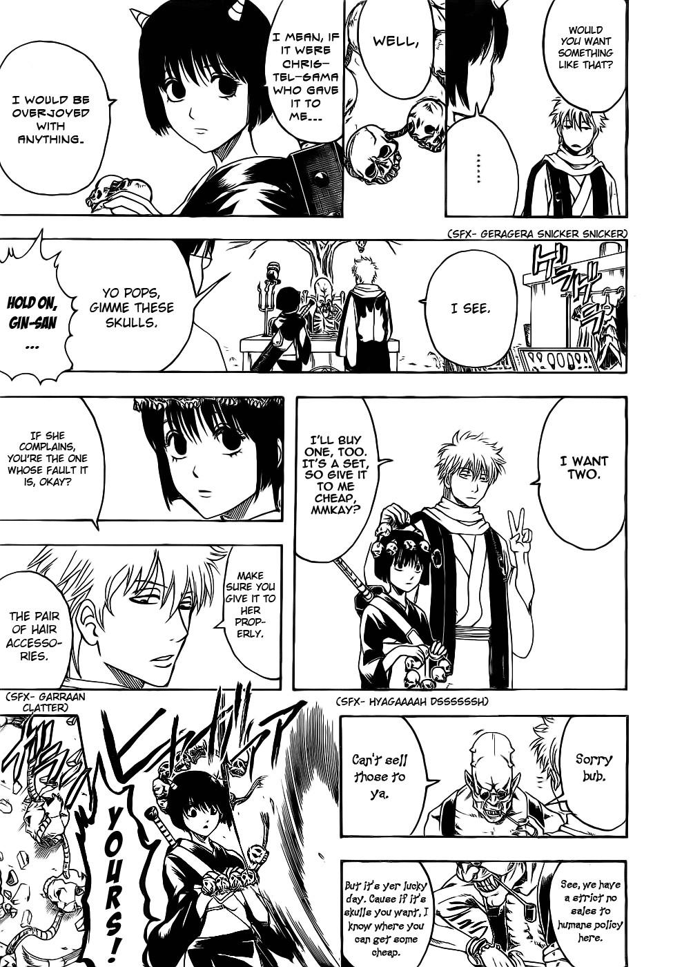 Gintama Chapter, 381 image 015