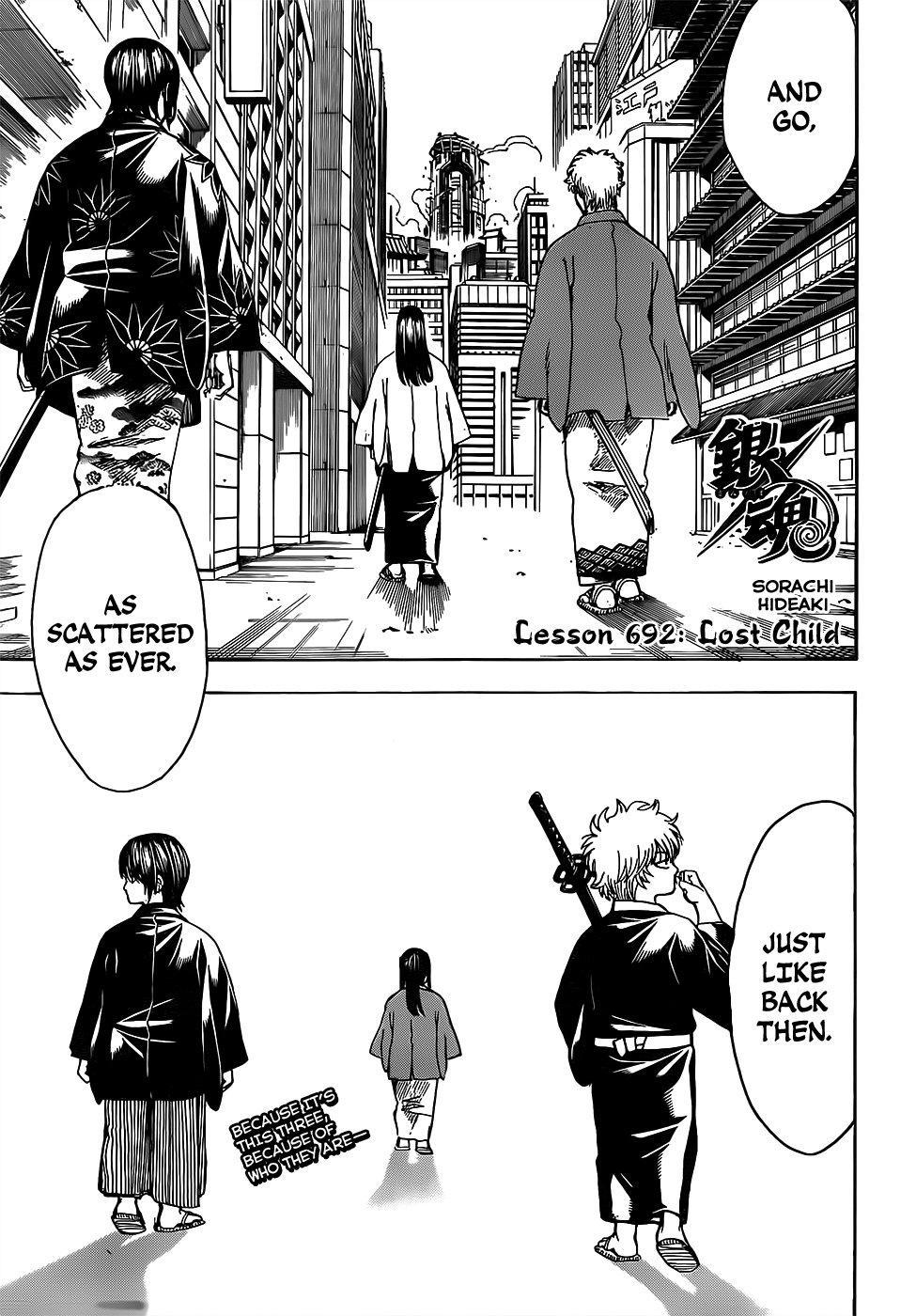 Gintama Chapter, 692 image 003