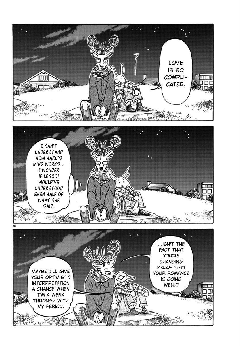 Beastars Manga, Chapter 166 image 016