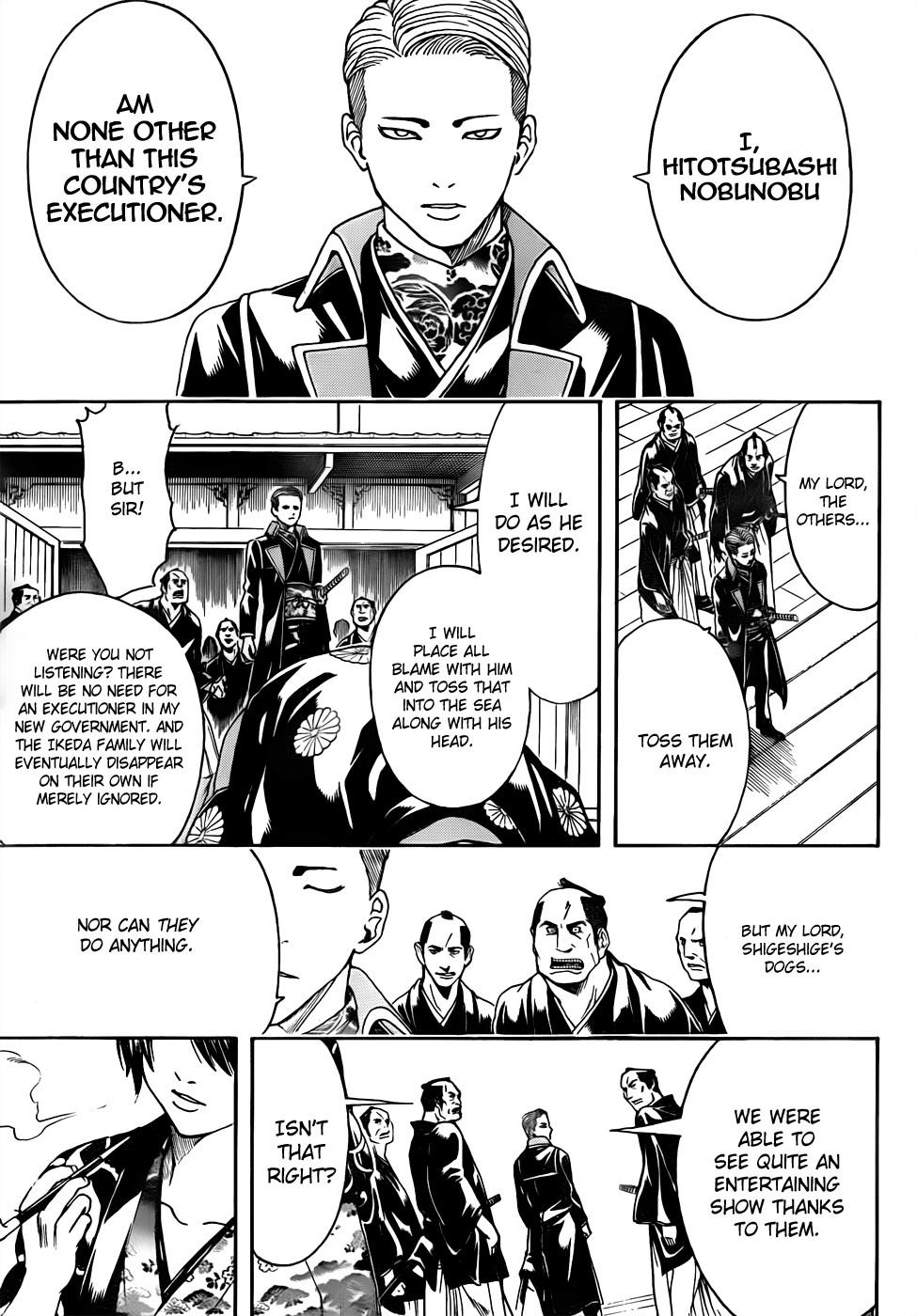 Gintama Chapter, 468 image 015