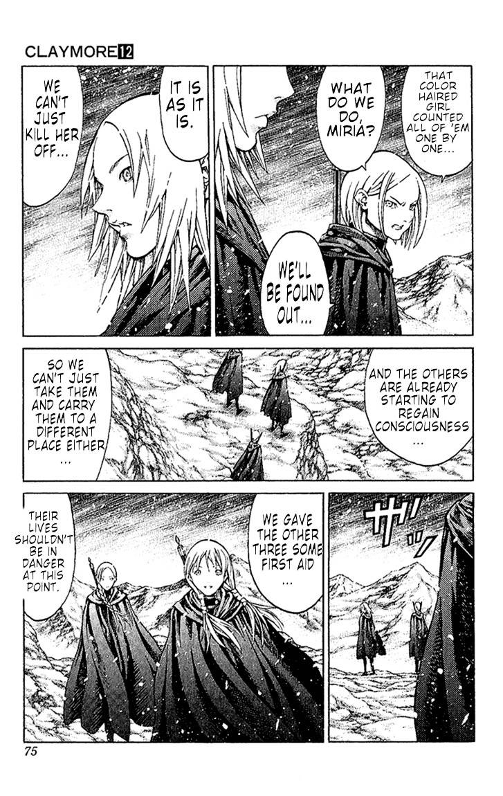 Claymore, Chapter 66 image 004