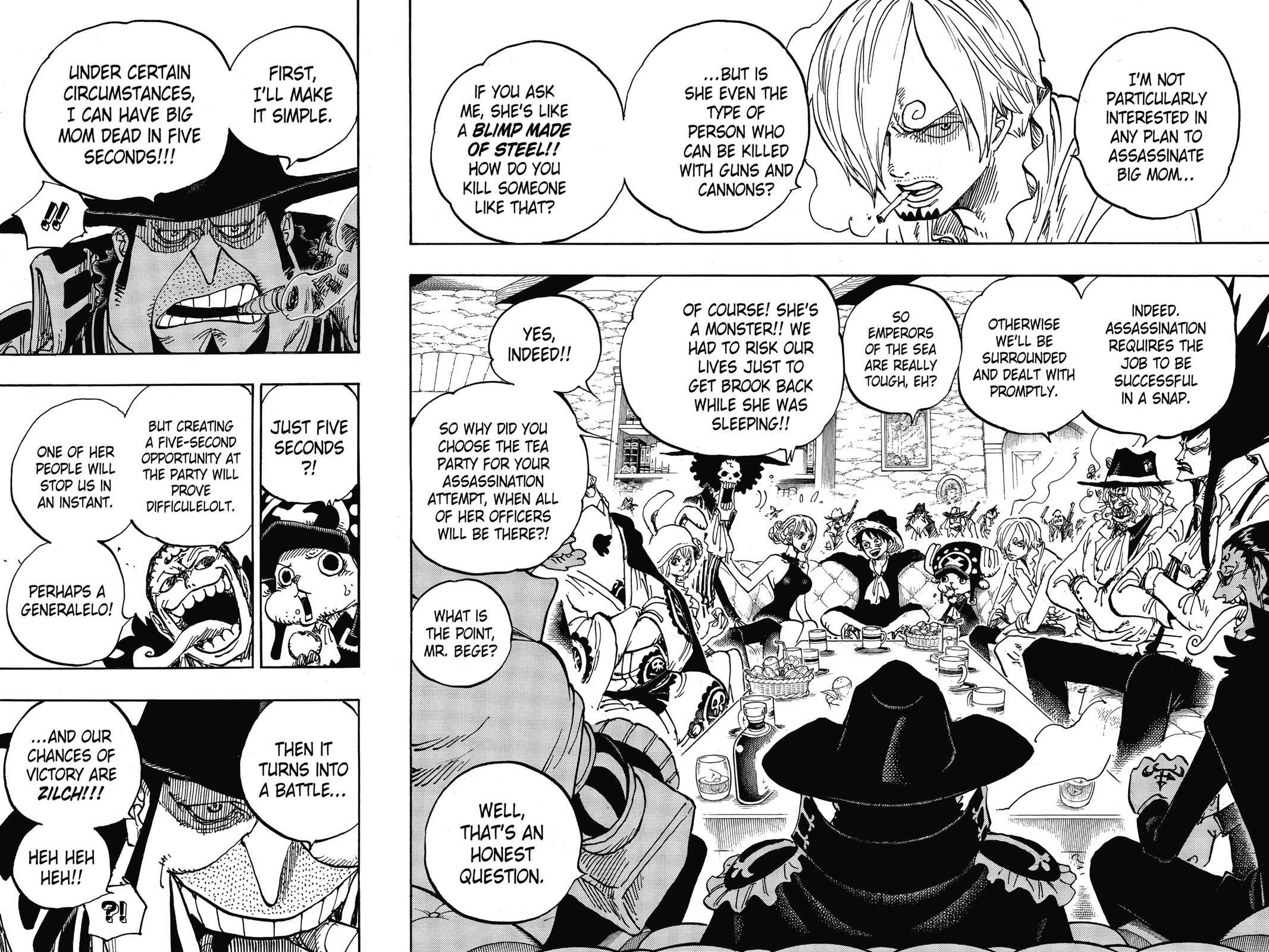 One Piece, Chapter 859 image 008
