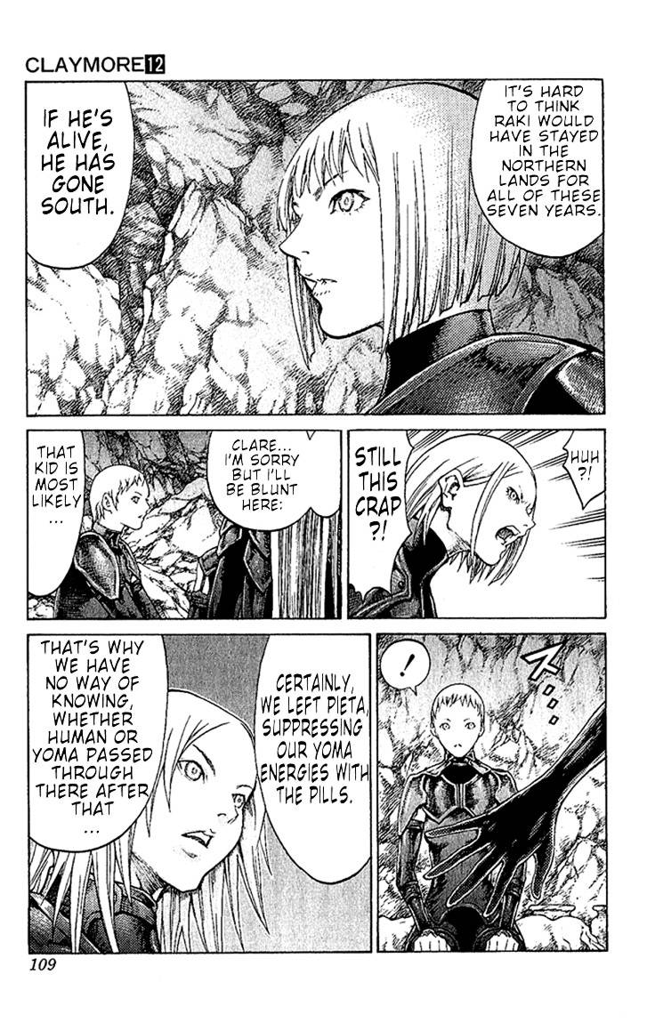 Claymore, Chapter 67 image 006