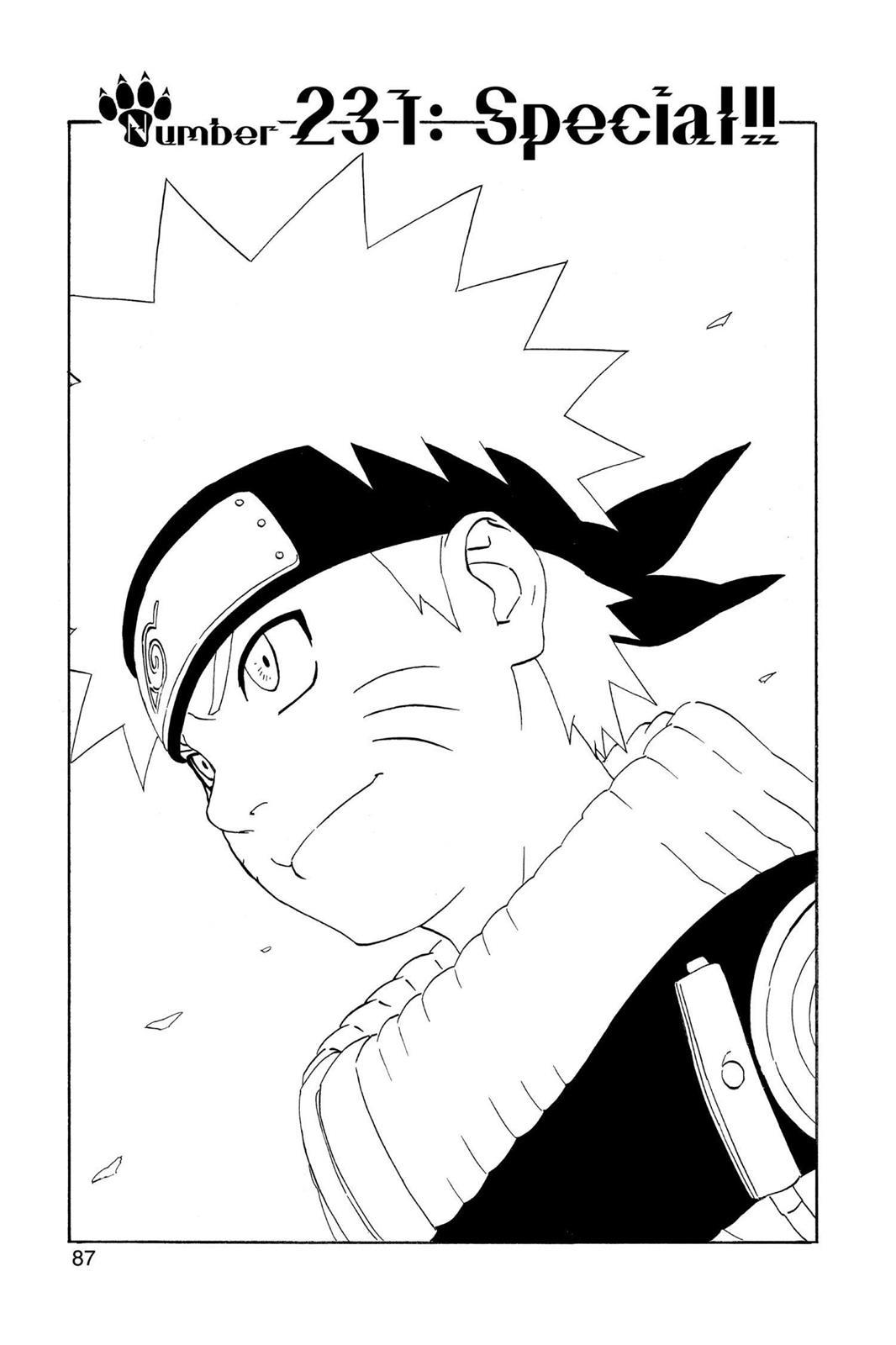 Naruto, Chapter 231 image 001